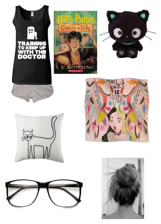 """Dakota- sleep wear"" by olympusfashion ❤ liked on Polyvore featuring dELiA*s, Kess InHouse and Retrò"