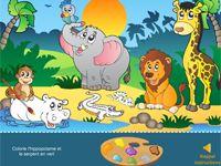 jeux en ligne les animaux d 39 afrique tbi et ressources internet pinterest animaux. Black Bedroom Furniture Sets. Home Design Ideas