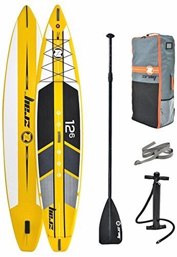 Z Ray 12 6 Racing Sup Operate Paddle Board Deal W Pump Paddle And Traveling Back Pack 6 Thick Standup Paddle Paddle Boarding Paddle
