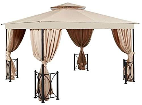 New Garden Winds Replacement Canopy The 10 X 12 Belcourt Gazebo 350 Online Greattopfurniture Gazebo Replacement Canopy Gazebo Replacement Canopy