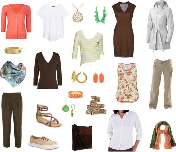 Travel capsule, Capsule wardrobe and Minimal clothing on ...