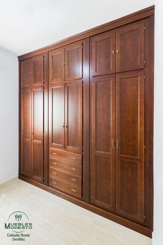 13 Modelos closet de madera
