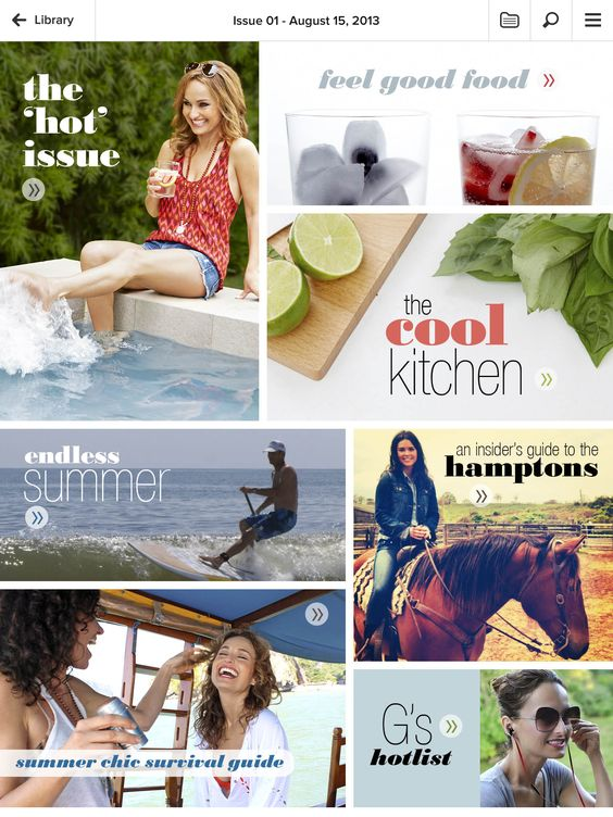 Giada's new {weekly} digital magazine!
