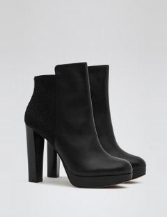REISS Berry Platform Ankle Boot