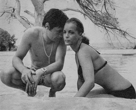 Bittersweet Vogue: Romy Schneider & Alain Delon