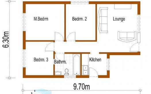 Double Storey House Plans South African Designs Nethouseplansnethouseplans Small Cottage House Plans House Plans Simple House Plans Simple cottage house plan