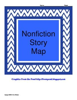 Here's a nonfiction story map that guides students to analyze story ...