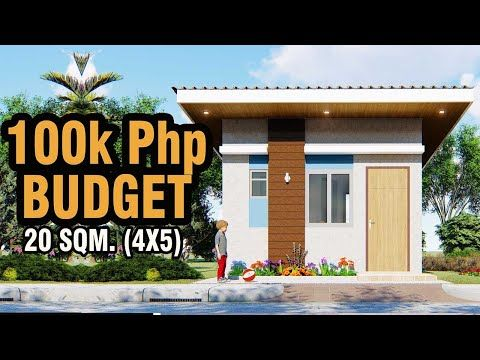 Small House Worth 100k Youtube In 2020 Small House House Worth Simple House Design