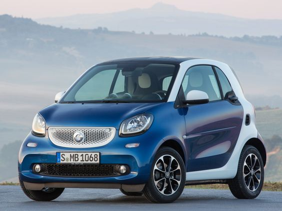 Smart ForTwo Passion Coupe.