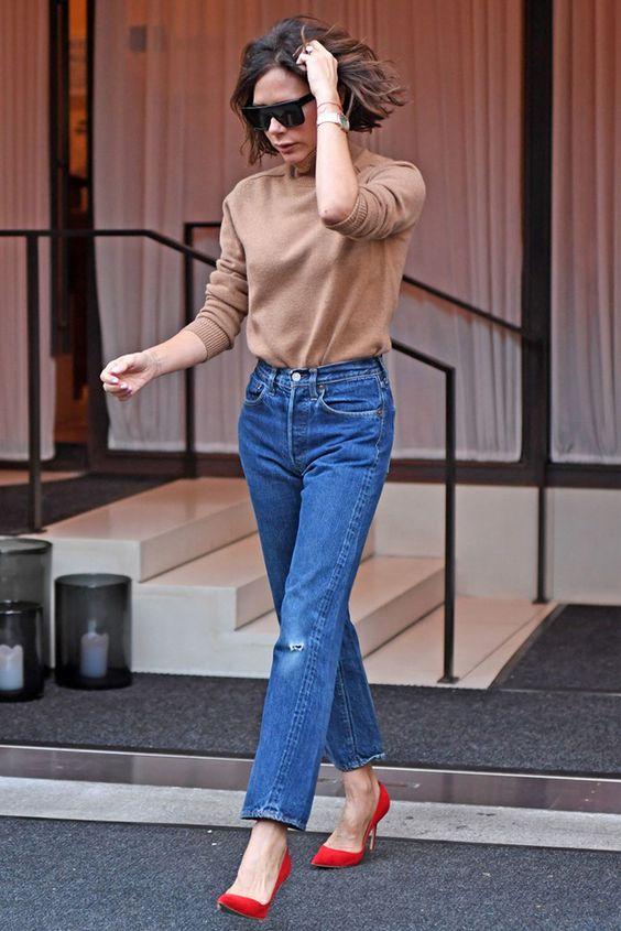 Виктория Бекхэм в Нью-Йорке