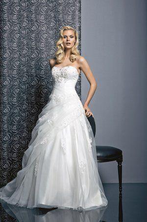 robe de marie balanquin de tati mariage 25 robes de marie de princesse pour briller - Tati Mariage Marseille