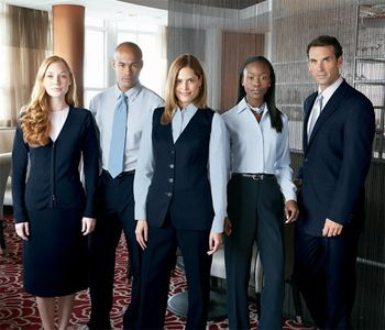 Hotel uniform uniform ideas and hotels on pinterest for Design hotel employee rate