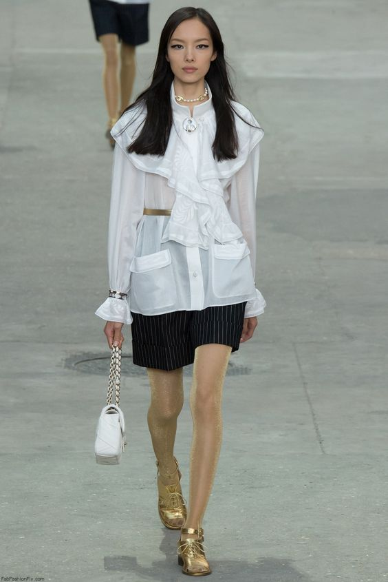 Chanel spring/summer 2015 collection - Paris fashion week