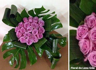 Floral Lena Góis: Rosas e verdes