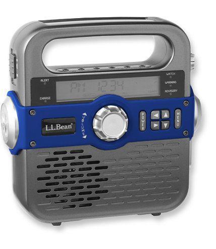 Ll bean solar emergency weather radio ice pinterest for Llbean 2 a day markdown