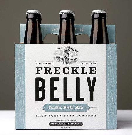 Back Forty Beer Co / packaging