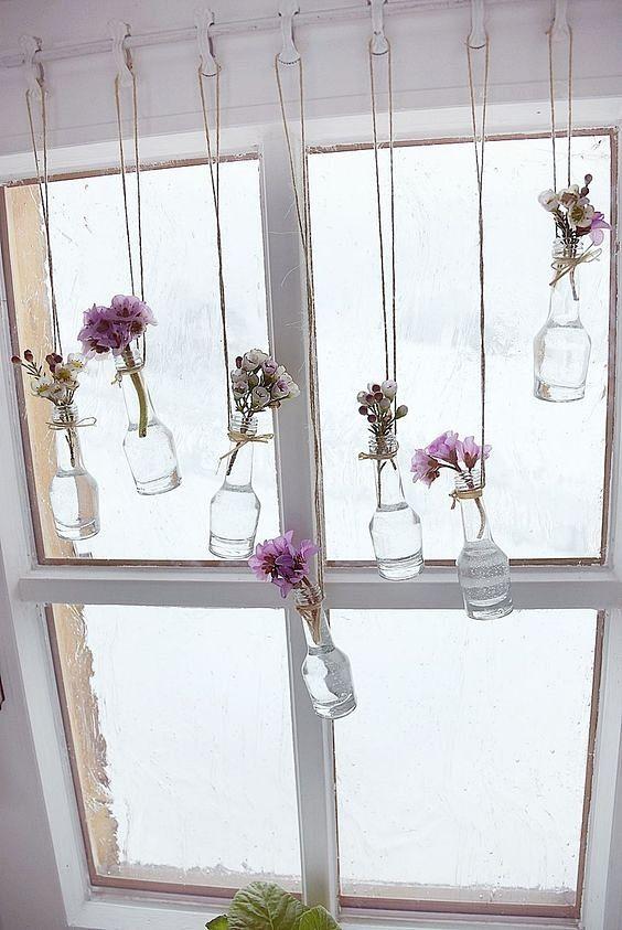 Fruhling Am Fenster Fruhlings Dekoration Dekoration Fruhlingsdekoration