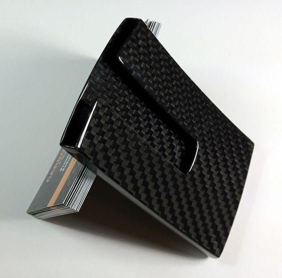 Kaarthouder Carbon Fiber Business Card Holder Carbon Fiber Business Card Holders Carbon