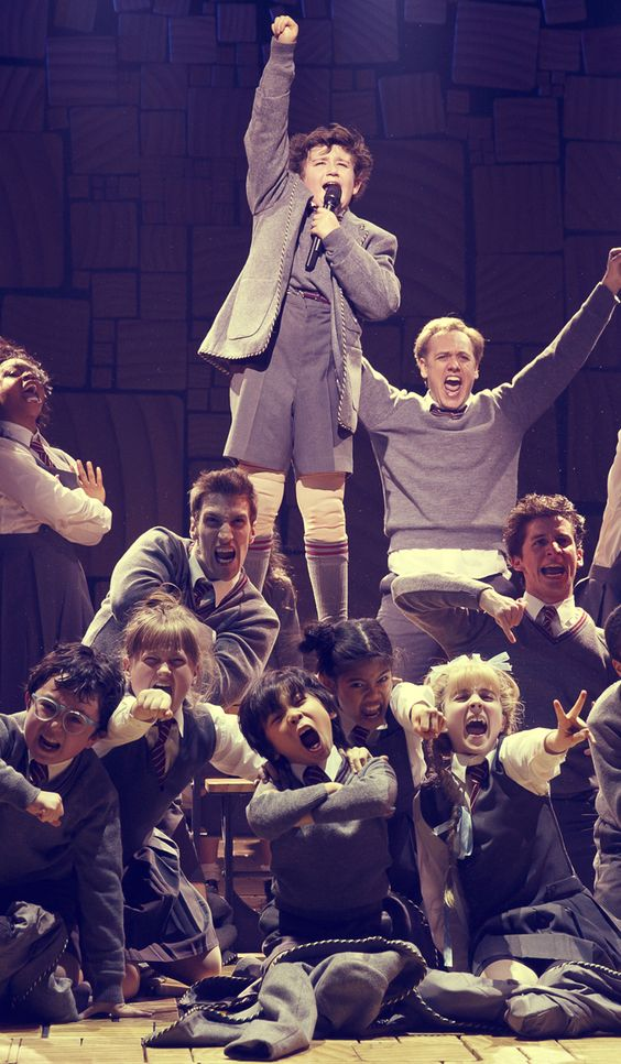 """We are revolting children, living in revolting times! We sing revolting songs, using revolting rhymes."" ― #Matilda the Musical"