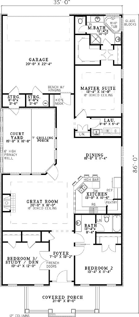 Courtyards Masters And Master Suite On Pinterest