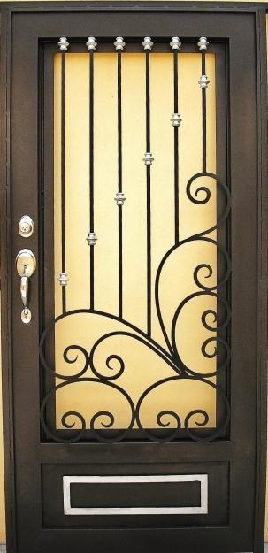 Puertas de herreria buscar con google puertas de - Puertas para porches ...