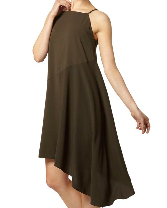 Shop the latest asymmetrical shift dresses at Lurap online clothing store. Find modern style women's plus size shift dresses khaki in Usa/Canada.