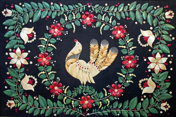 Folk art - Bird by SERGEI MATIASH Belarus
