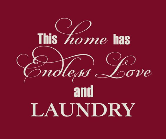 Laundry room decor wall art laundry room by VinylWallQuotes