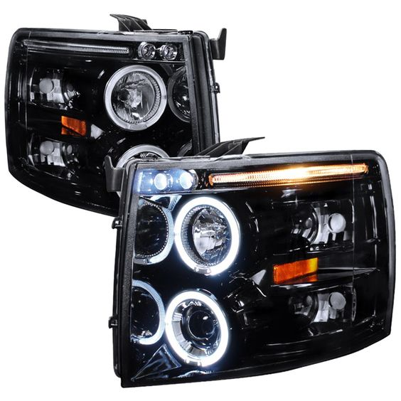 The Spec-D Pair Headlights fit the 2008 Chevy Silverado. Get proper fitment, easy installation and quality Headlights for your Chevy. Transform your Silverado for the ultimate driving experience.AutoLightPros.com is backed by a Manufacturer's Warranty and offers safe and secure shipping. You will shop with confidence when you go with the Pros!
