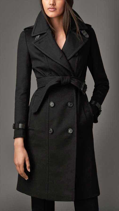42+ Schwarzer mantel mit guertel ideen
