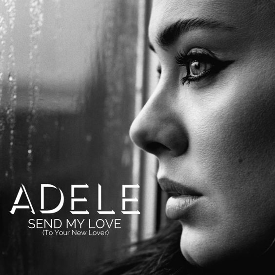 Adele – Send My Love (To Your New Lover) (single cover art)