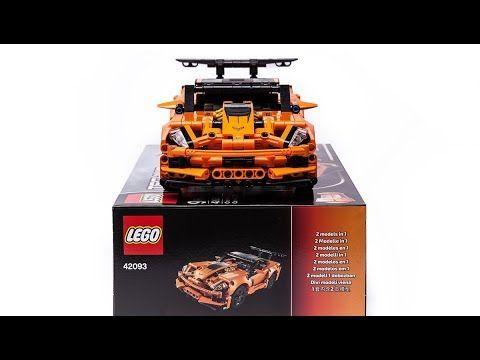 2019 Lego Technic 42093 Chevrolet Corvette Zr1 Quick Review Youtube Lego Technic Lego Lego Cars