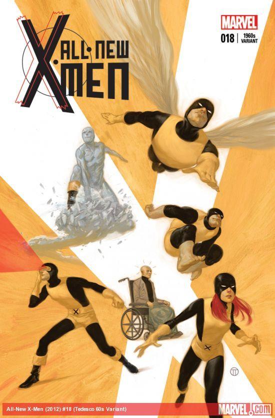 Julian Totino Tedesco - 60s X-Men