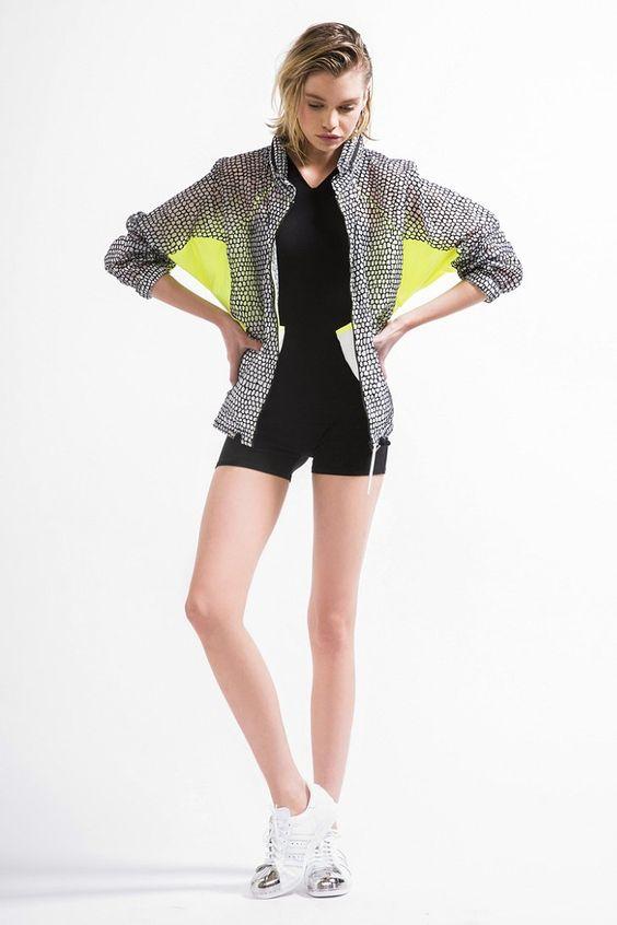 adidas Flocked Windbreaker Jacket