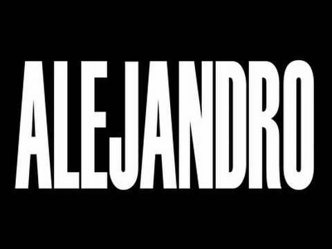 Lady Gaga - Alejandro (Music Video in HD)