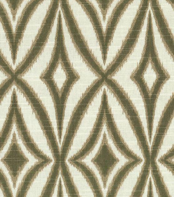 Home Dec Print Fabric-Waverly Centro Flint, - Kitchen Curtains