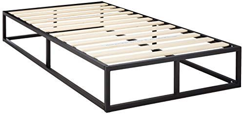 Zinus Joseph 10 Inch Metal Platforma Bed Frame Mattress Foundation Wood Slat Support No Box In 2020 Bed Frame Mattress Twin Mattress Frame Low Profile Bed Frame