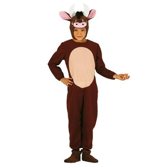 Disfraz de Buey infantil #disfracesnavidad #disfracesnavideños