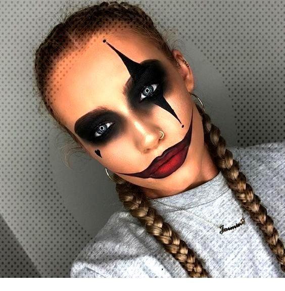 Maquillage Halloween 95.Pin On Clown Halloween Makeup