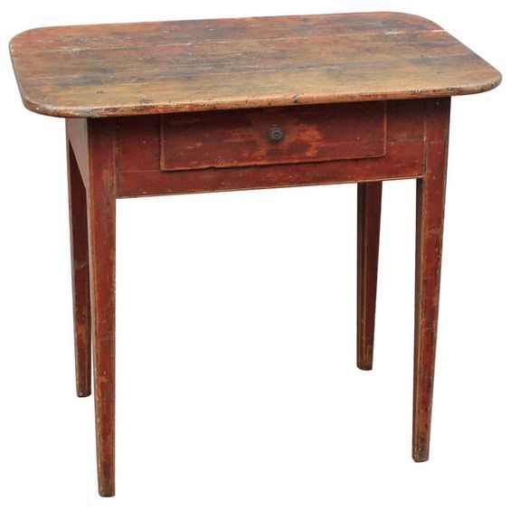 New england painted server table circa 1825 antiques for Furniture 1825