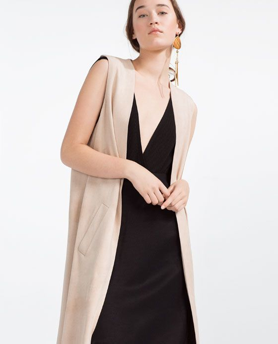 LONG WAISTCOAT WITH BACK OPENING