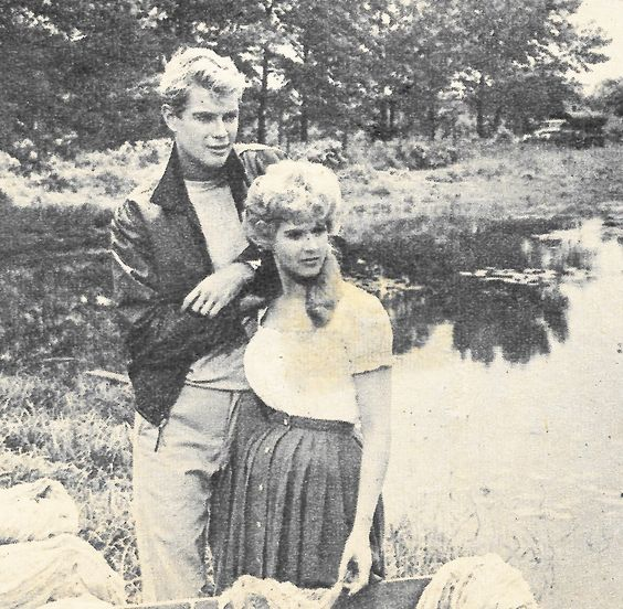 Troy Donahue and Connie Stevens