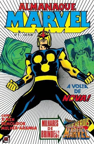 Almanaque Marvel n° 5 - Rge