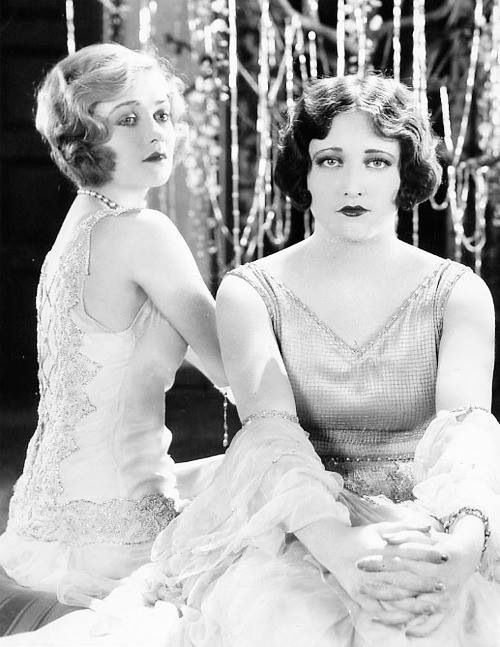 1925 Constance Bennett and Joan Crawford: