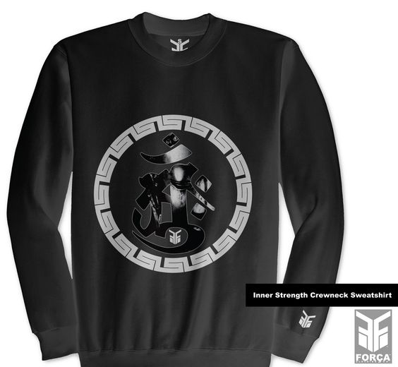 $54.99 #InnerStrength Crewneck Sweatshirt by Força Clothing Co.