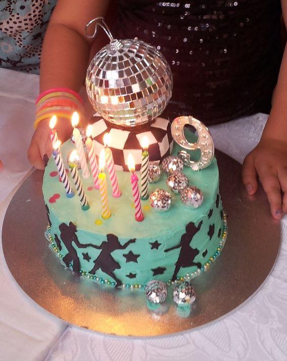 cute disco cake! | Lily's Birthday Dance Party | Pinterest ...