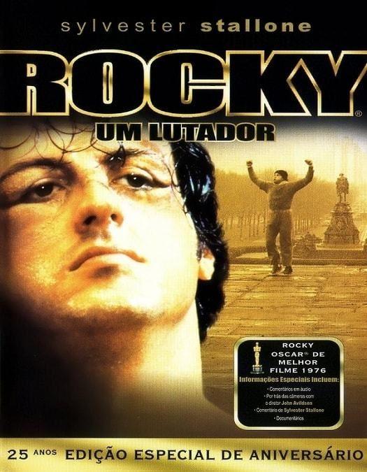 Rocky Um Lutador Dublado 1976 Lutador Capas De Filmes Sylvester Stallone