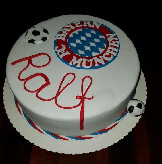 FC Bayern München Cake Torte