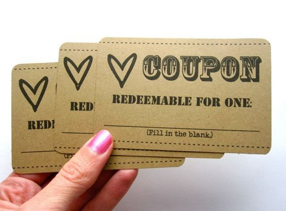 1 dozen love coupons