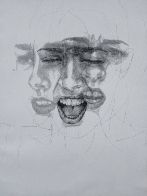 Drawing Lines With Emotion : Different emotions mixed and feelings on pinterest